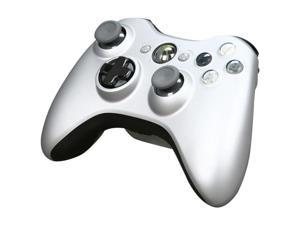 Microsoft Xbox 360 Wireless Controller w/Play & ChargePack Silver