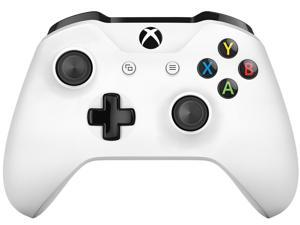 Microsoft Xbox Wireless Controller - Wireless - Xbox One, PC - Force Feedback - White