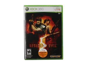 Resident Evil 5 Xbox 360 Game CAPCOM