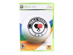 Table Tennis Xbox 360 Game Rockstar Gaming