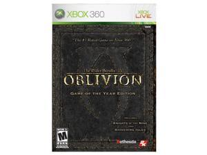 Elder Scrolls IV: Oblivion Game of the Year Edition Xbox 360 Game