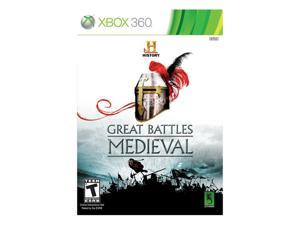 History Great Battles Medieval Xbox 360 Game