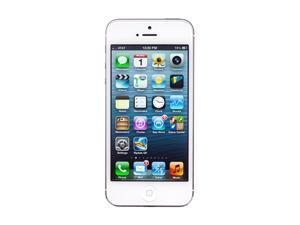 "Apple iPhone 5 MD296LL/A 32 GB storage, 1 GB RAM Unlocked Smart Phone with 4"" Screen/ iOS 6 / 32GB Memory 4.0"" White"