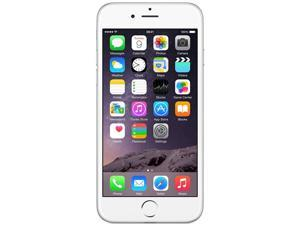 Apple iPhone 6 Silver Unlocked GSM 8MP Camera Smartphone, Grade C Condition