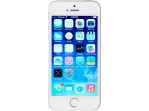 Apple iPhone 5s Silver Unlocked GSM Dual-Core Phone w/ 8 MP Camera - (Certified Refurbished)