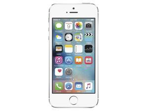 Apple iPhone 5s Silver Factory Unlocked GSM Cell Phone