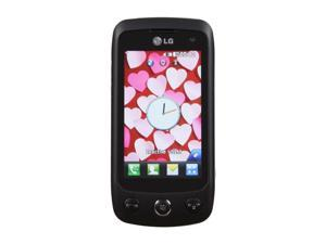 "LG Cookie Plus  Black Unlocked GSM Touch Screen Phone w/ 3.0"" Touch Screen / 3.15MP Camera / Bluetooth v2.1 (GS500)"