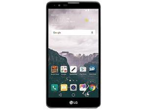LG Stylo 2 Black Boost Mobile Cell Phone with $35 Month of Service