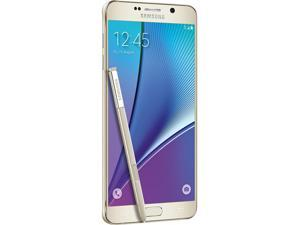 "Samsung Galaxy Note 5 32GB 4G LTE Cell Phone 5.7"" 4GB RAM Gold"