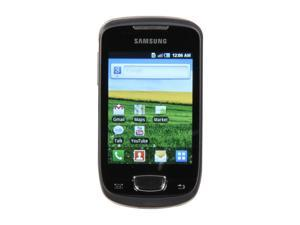 Samsung Galaxy Mini S5570 Steel Gray Single-Core 600MHz Unlocked Cell Phone