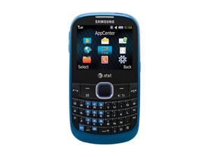 Samsung A187 Blue/Black Unlocked Cell Phone w/ Bluetooth v2.0 / 1.3 MP Camera (SGH-A187)