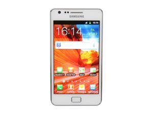 Samsung Galaxy S II White 3G Unlocked GSM Smartphone w/ 8 MP Camera/Android OS/16GB Internal Memory (i9100)