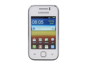 "Samsung Galaxy Y GT-S5360 White Unlocked GSM Android Smart Phone w/ Android OS 2.3.5 / 2 MP Camera / 3.0"" Touchscreen"