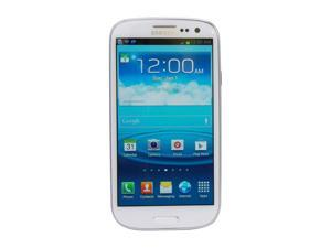 AT&T Samsung Galaxy S3 (Unlocked) 16GB White 4G LTE Dual-Core 1.5GHz SGH-i747