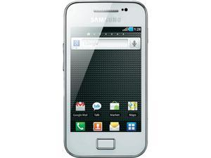 Samsung Galaxy Ace GT-S5830 White Single-Core 800MHz Unlocked Cell Phone