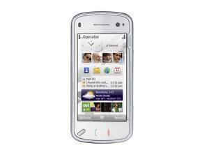 "Nokia N97 White 3G Unlocked GSM slider phone with 3.5"" Touch Screen"