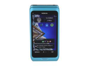 Nokia E7 Blue 3G Single-Core 600MHz 16GB Unlocked GSM Smart Phone w/ 8MP Camera