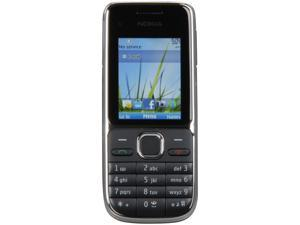 Nokia C2-01 Black 3G Unlocked GSM Bar Phone with 3.2MP Camera