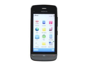 "Nokia  Graphite Black Unlocked GSM Smart Phone with Wi-Fi / 3.2"" Touch Screen / GPS Receiver / 5.0 MP Camera (C5-03)"