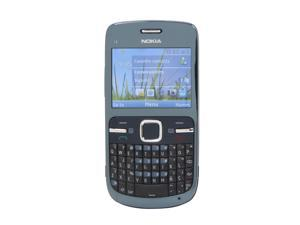 Nokia C3-00 Slate Gray Unlocked GSM Smart Phone w/ Full QWERTY Keyboard / Wi-Fi