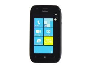 "Nokia Lumia 710 Black 3G Unlocked GSM Windows Smart Phone w/ Wi-Fi / Bluetooth / 5 MP Camera / 3.7"" Display"