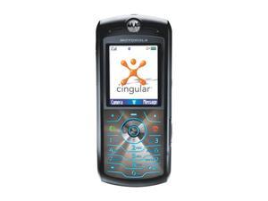 Motorola SLVR L7 Black MP3 / Video Player Camera Bluetooth Unlocked GSM Cell Phone