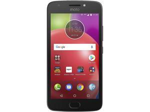 "Motorola Moto E4 (4th Gen) Unlocked Cell Phone (5"", 16GB Storage 2GB RAM) Black"