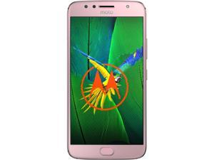 "Moto G5s Plus (Special Edition) Unlocked Smartphone Dual Camera (5.5"" Blush Gold, 32GB Storage 3GB RAM) US Warranty"