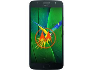 "Moto G5s Plus (Special Edition)  Unlocked Smartphone Dual Camera (5.5"" Lunar Gray, 64GB Storage 4GB RAM) US Warranty"