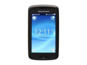 "Sony Txt Pro Black Unlocked Cell Phone w/3"" Touch Screen/3.15MP Camera/Bluetooth v2.1 with A2DP (CK15a)"