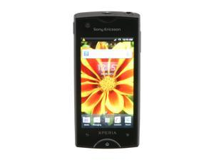 "Sony Ericsson Xperia ray Black 3G Unlocked GSM Android Smart Phone w/ Android OS 2.3 / 3.3"" Touch Screen / 8.1MP Camera (ST18a)"