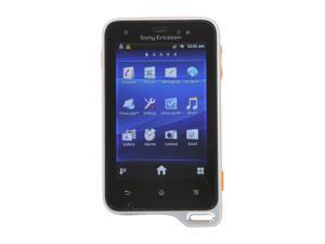"Sony Xperia active Orange / Black Unlocked Cell Phone w/ Android 2.3 / 3.0"" Touch Screen"