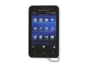 "Sony Xperia active White / Black Unlocked GSM Cell Phone w/ Android 2.3 / 3.0"" Touch Screen"