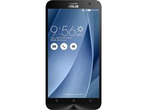 "Asus Zenfone 2 Unlocked Smart Phone, 5.5"" Silver, 64GB Storage 4GB RAM, US Warranty"
