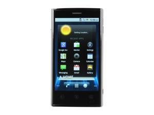 "Dell Venue 16GB Black 3G Unlocked Android Smart Phone w/ 4.1"" Touch Screen / 8MP Camera / LED Flash"