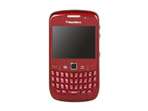 BlackBerry Curve Red Unlocked GSM Smart Phone with Wi-Fi, Full QWERTY Keyboard (8520)