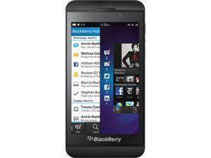 "BlackBerry Z10 16 GB storage, 2 GB RAM 16GB Unlocked Cell Phone 4.2"" Black"
