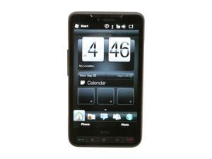 "HTC HD2 Black Unlocked GSM Smart Phone w/ Windows Mobile OS / 1GHz Snapdragon CPU / 4.3"" Touch Screen / 5 MP Camera / GPS ..."
