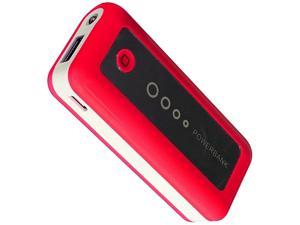 Wireless Xcessories Group Red 5600 mAh High Power External Battery Pack w/LED Indicator & Flashlight XFBAT5600RD