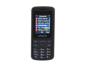 Unnecto ECO Black / Gray Unlocked Bar Phone w/ Dual Sim