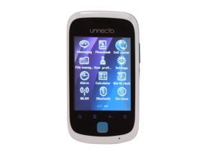 Unnecto Tap White / Blue Unlocked Dual SIM Cell Phone