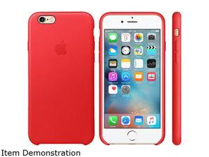 Apple Red iPhone 6s Leather Case MKXX2ZM/A