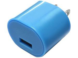 DigiPower - iEssentials - 1.0amp USB Wall Charger - Blue