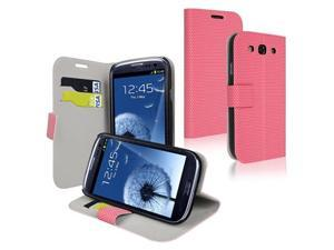 Insten Privacy Film + PINK WALLET POUCH Case For SAMSUNG GALAXY S3 III S3 PHONE ACCESSORY