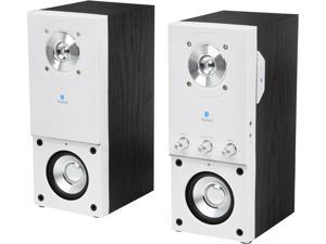 Eagle Arion ET-AR204B-WH 2.0 Bluetooth Speakers with Wall Mount Bracket