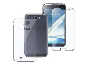 Insten Full Body Reusable Screen Protector Compatible With Samsung Galaxy Note II N7100
