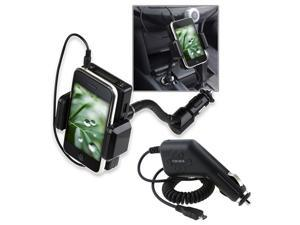 Insten 3.5mm FM Transmitter+Car Charger For HTC Sensation 4G