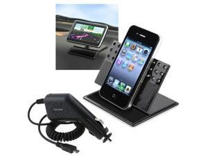 Insten For Samsung Infuse 4G Galaxy S Car Charger+Phone Holder