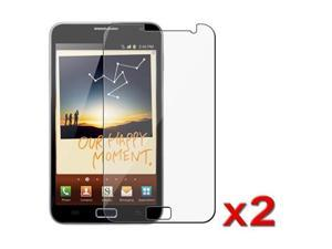 Insten 2x LCD Clear Screen Protector Film Cover for Samsung Galaxy Note N7000