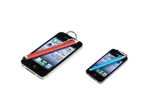 Insten Blue + Red Stylus Pen For HTC EVO 4G LTE One X XL Amaze 4G